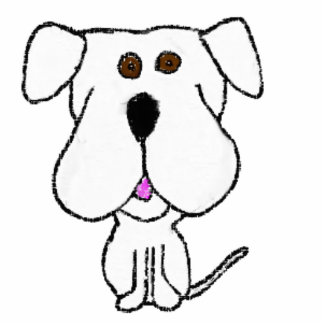 Barty Bulldogge Fotoskulptur Magnet