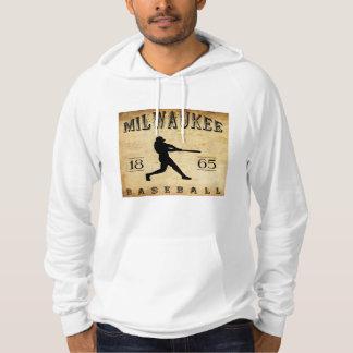 Baseball 1865 Milwaukee Wisconsin Hoodie