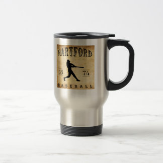 Baseball 1874 Hartfords Connecticut Reisebecher