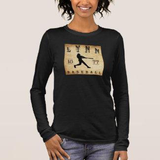 Baseball 1877 Lynns Massachusetts Langarm T-Shirt
