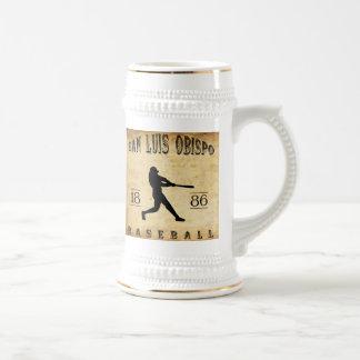 Baseball 1886 San Luis Obispo Kalifornien Bierglas