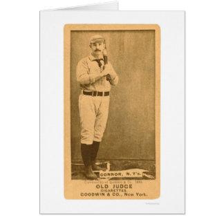 Baseball 1887 Roger Connor Karte
