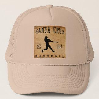 Baseball 1888 Santa Cruz Kalifornien Truckerkappe
