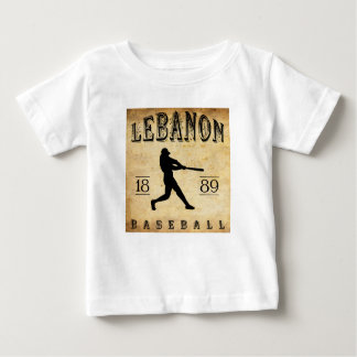 Baseball 1889 des Libanons Pennsylvania Baby T-shirt