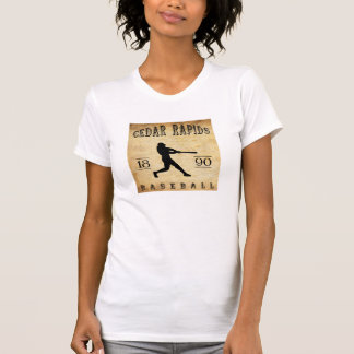 Baseball 1890 Cedar Rapids Iowa T-Shirt
