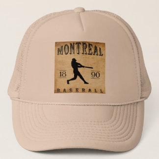 Baseball 1890 Montreals Quebec Kanada Truckerkappe