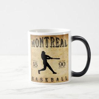 Baseball 1890 Montreals Quebec Kanada Verwandlungstasse