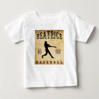 Baseball 1892 Beatrice Nebraska Baby T-shirt