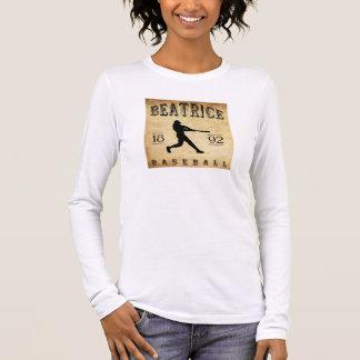 Baseball 1892 Beatrice Nebraska Langarm T-Shirt