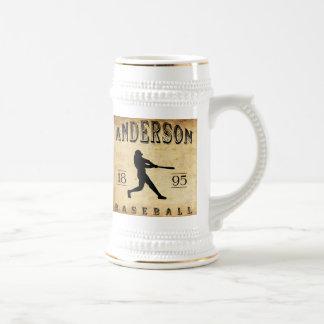 Baseball 1895 Andersons Indiana Bierglas