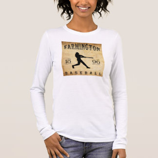 Baseball 1896 Farmingtons New York Langarm T-Shirt
