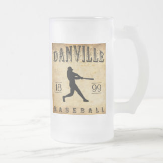 Baseball 1899 Danvilles Indiana Mattglas Bierglas