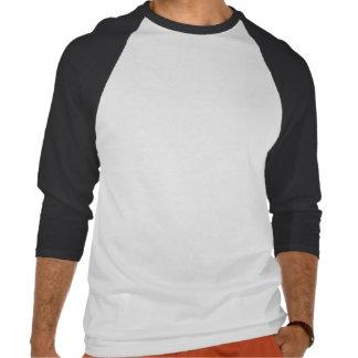 Baseball-ähnlicher Schwarzweiss-Baseball T Shirts
