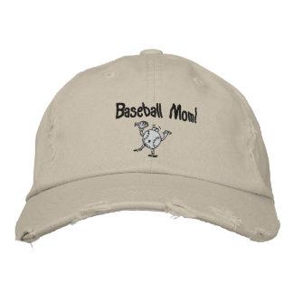 Baseball, Baseball-Mamma! Bestickte Baseballkappe