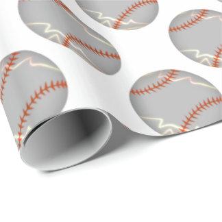 Baseball-Beleuchtung Geschenkpapier