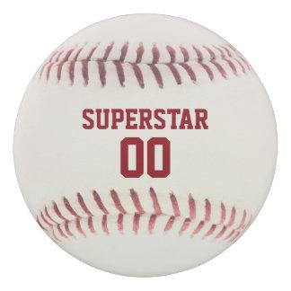 Baseball-Beschaffenheit personalisiert Radiergummi