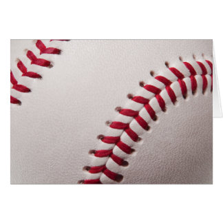 Baseball - besonders angefertigt grußkarte