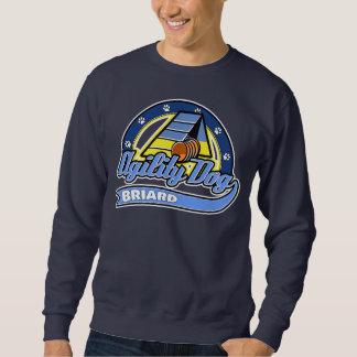 Baseball Briard Agility Sweatshirt