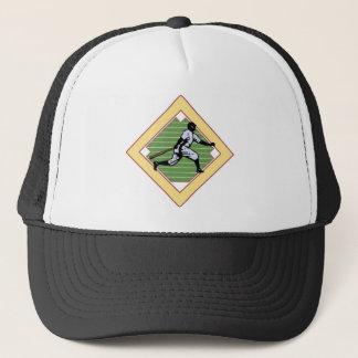Baseball-Diamant Truckerkappe