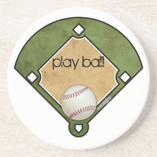 Baseball-Diamant - Untersetzer