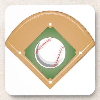 Baseball-Diamant Untersetzer