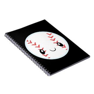 Baseball Emojis Notizblock