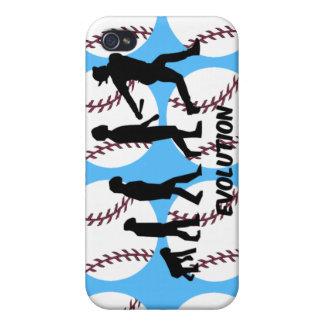 Baseball-Evolution iPhone 4 Etuis