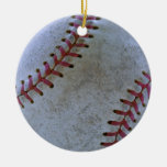 Baseball Fan-tastic_Battered Ball _autograph berei Ornament