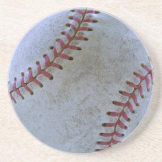 Baseball Fan-tastic_Battered Ball-Getränkefreund Sandstein Untersetzer