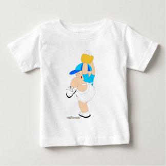 Baseball-Fänger-Baby T-shirt
