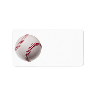 Baseball - fertigen Sie Adressetiketten