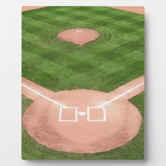 Baseball Fotoplatte