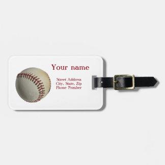 Baseball-Gepäckanhänger Gepäckanhänger