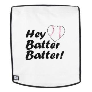 Baseball-Geschenkhe Teigteig Rucksack