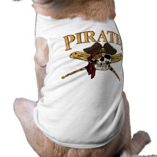 Baseball-Haustier-Kleidung Ärmelfreies Hunde-Shirt