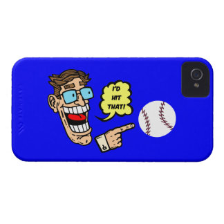 Baseball I würde den schlagen Case-Mate iPhone 4 Hüllen