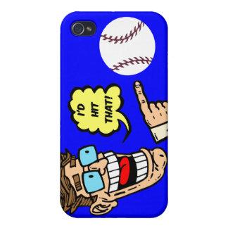 Baseball I würde den schlagen iPhone 4/4S Hüllen
