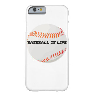 Baseball ist Leben iPhone Fall Barely There iPhone 6 Hülle