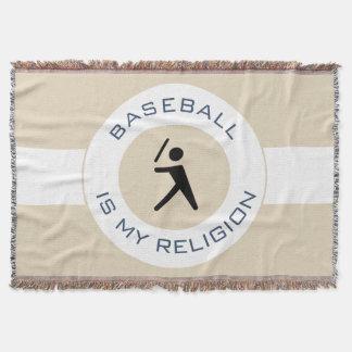 BASEBALL IST MEINE RELIGION DECKE
