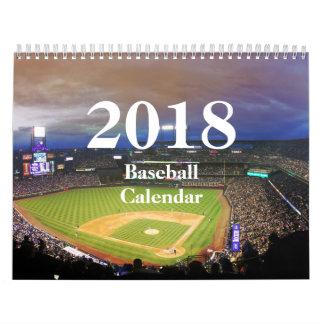 Baseball Kalender-HAMbyWhiteGlove 2018 Wandkalender