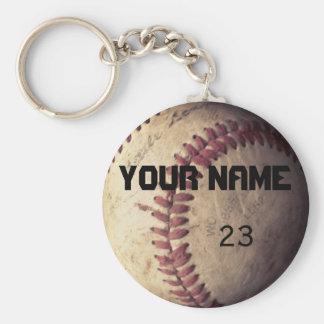 Baseball keychain Schablone Standard Runder Schlüsselanhänger