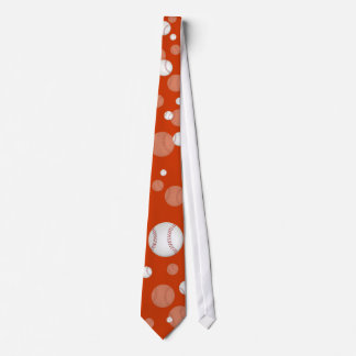 Baseball-Krawatte Individuelle Krawatten