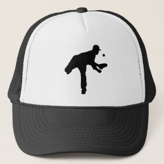 Baseball-Krug-Silhouette Truckerkappe