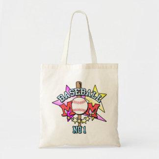 Baseball-Mamma-Einkaufstasche Tragetasche