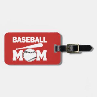 Baseball-Mamma-Gepäckanhänger Gepäckanhänger