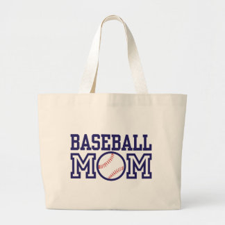 Baseball-Mamma Jumbo Stoffbeutel