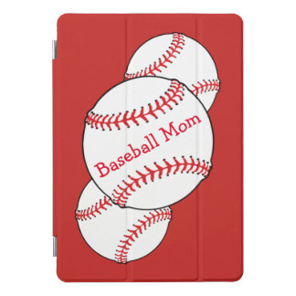 Baseball-Mamma Rotes und Weiß iPad Profall 10,5 iPad Pro Cover