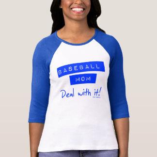 Baseball-Mamma-T-Stück T-Shirt