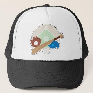 Baseball-Material Truckerkappe