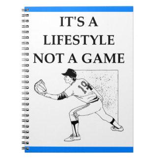 Baseball Notizblock